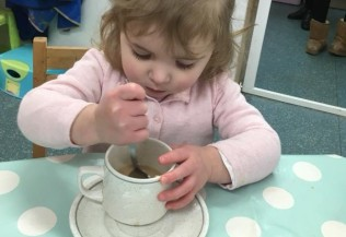 CUP OF TEA FOR EMILY!